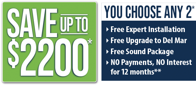 Save Up to $2200*