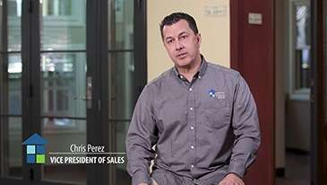 Vice President of Sales Chris Perez Talks About Window Installation Experience and Customer Service