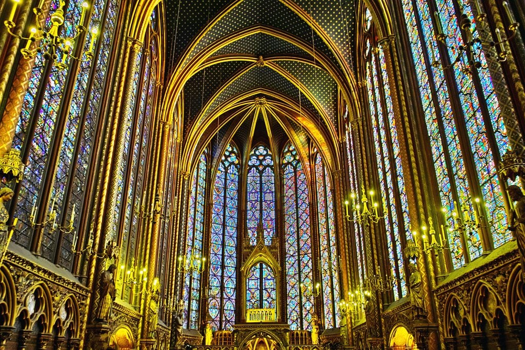 Sainte Chapelle stained glass windows