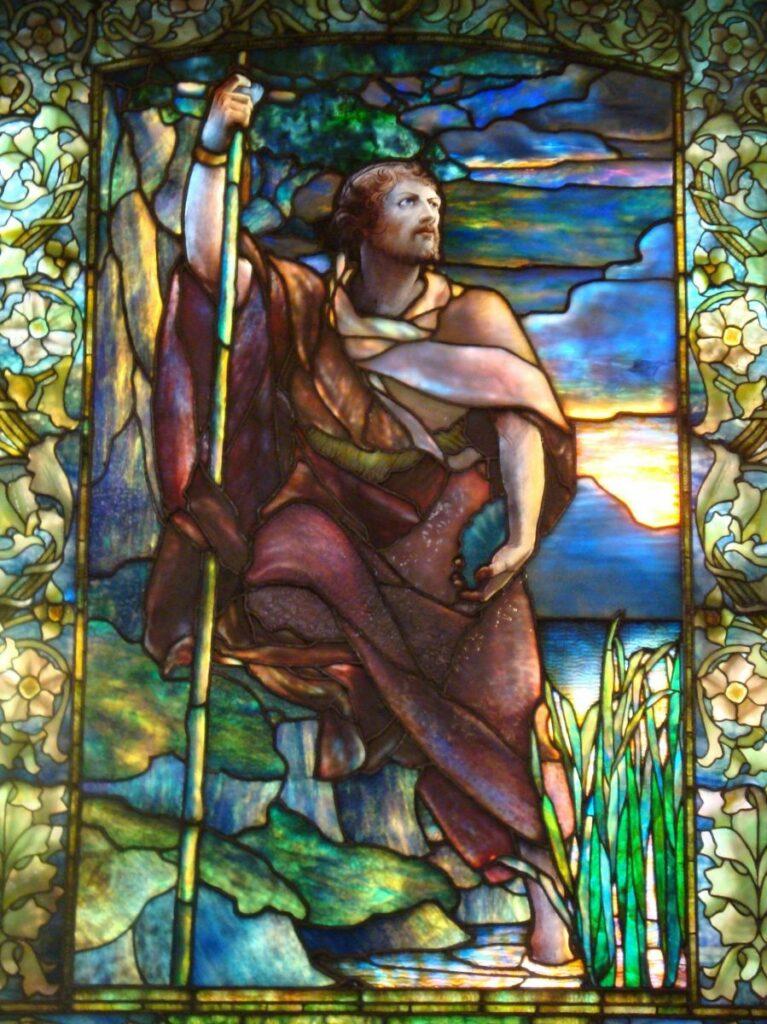 Arlington Street Church Stained glass windows