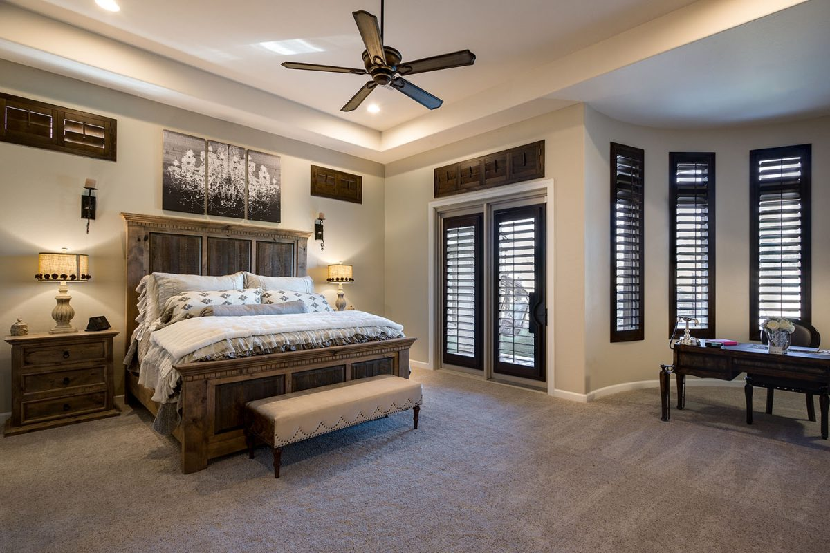 Master Bedroom With Sliding Doors And Windows American Vision Windows