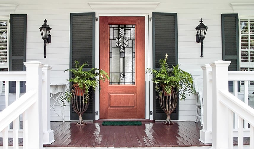 Doors american vision windows for Triple french doors exterior